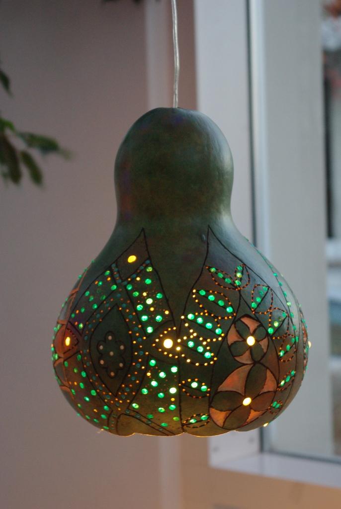 Gourd Lamps   The Wren's Haven